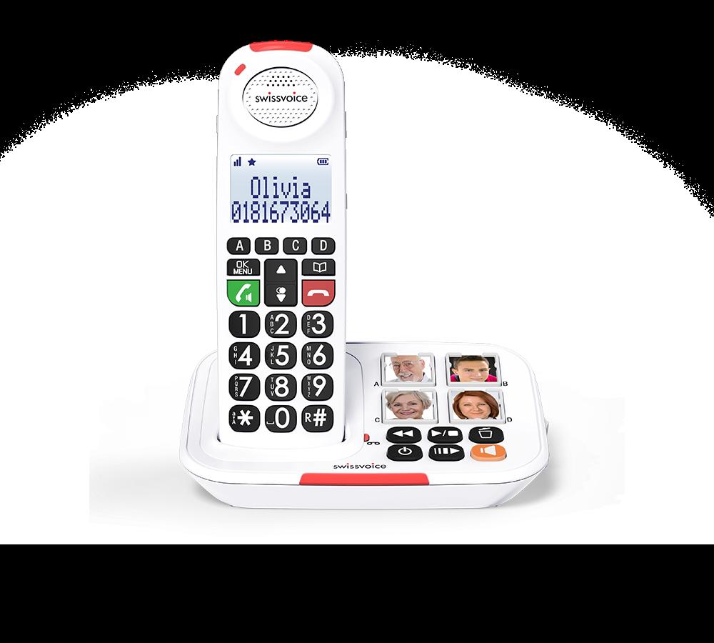 teléfono inalámbrico para mayores