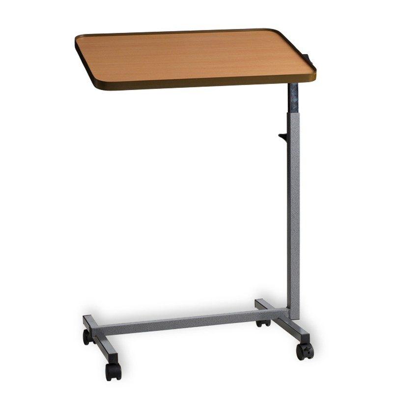 mesa auxiliar regulable en altura y abatible
