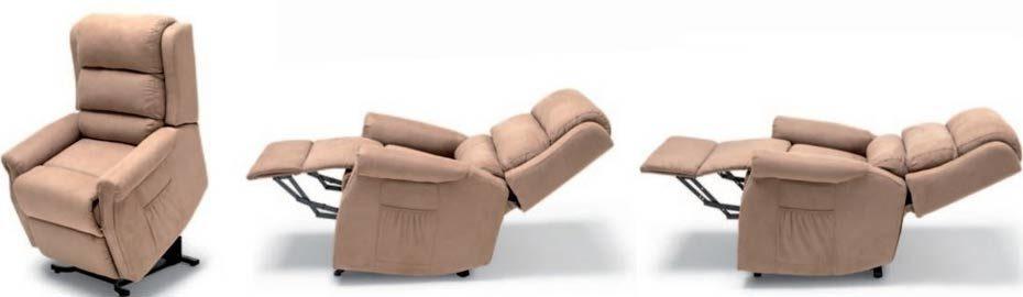 sillón elevable y articulable